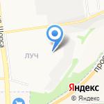 СШОР №4 на карте Белгорода
