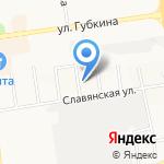 Эковата-Белгород на карте Белгорода