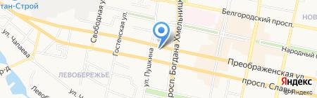 Pro-English на карте Белгорода