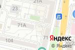 Схема проезда до компании Киоск в Белгороде