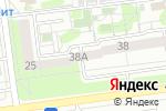 Схема проезда до компании Студия окон в Белгороде