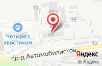 Схема проезда до компании Фемида Центр в Белгороде