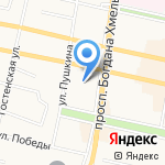 Прогимназия №51 на карте Белгорода