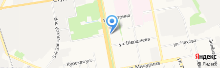 Золотая Середина на карте Белгорода