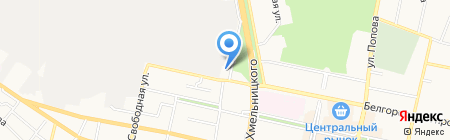Управление Федеральной службы судебных приставов по Белгородской области на карте Белгорода