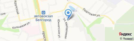 Индекс на карте Белгорода