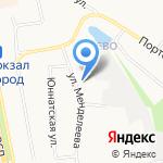 Андокс на карте Белгорода
