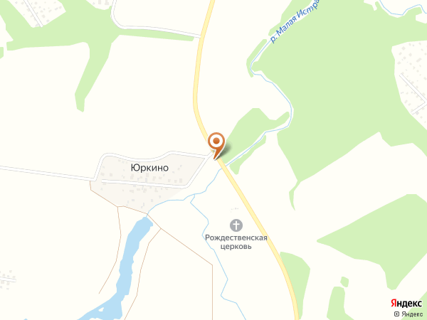 Остановка Юркино (Московская область)