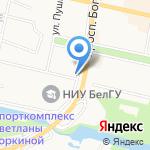 Родина на карте Белгорода
