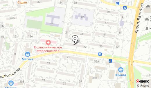ЭкоКонтроль-Центр. Схема проезда в Белгороде