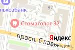 Схема проезда до компании Алло в Белгороде