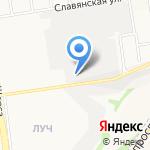 Мультипарт на карте Белгорода