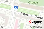 Схема проезда до компании Алина в Белгороде
