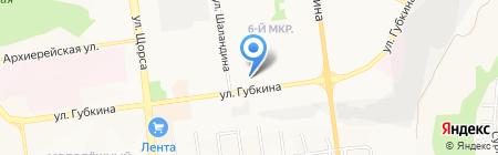 Магазин строительных и отделочных материалов на карте Белгорода