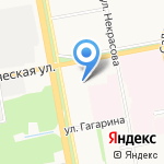 Покровский на карте Белгорода