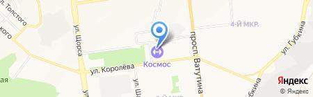 Музенидис Трэвел на карте Белгорода