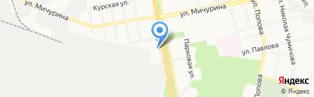 Белгородский машиностроительный техникум на карте Белгорода
