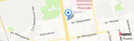 Нотариус Ушакова Е.Ю. на карте Белгорода