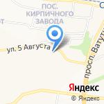 Участковый пункт полиции №9 на карте Белгорода