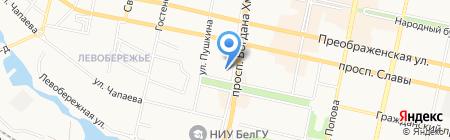 Коллекция на карте Белгорода