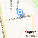 Борт 31 на карте Белгорода