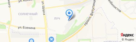 Ингео на карте Белгорода