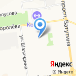 Стиль Города на карте Белгорода