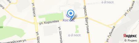 Магазин оптики на карте Белгорода