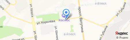 Плюшкин на карте Белгорода