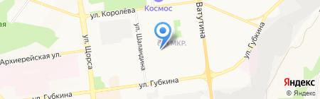 Ирэн на карте Белгорода