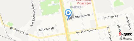 Остров Детства на карте Белгорода