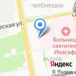Колобок на карте Белгорода