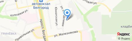 БМТК на карте Белгорода
