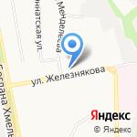 Белгородский строительный колледж на карте Белгорода