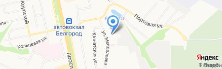 ПК СТРОЙ на карте Белгорода