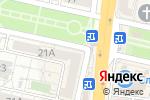 Схема проезда до компании Айкрафт в Белгороде
