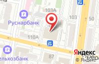 Схема проезда до компании Юридический кабинет в Белгороде