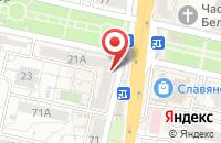 Схема проезда до компании МИСС в Белгороде