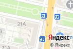 Схема проезда до компании Белый Остров в Белгороде