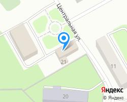 Схема местоположения почтового отделения 141667