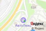 Схема проезда до компании Автолюкс Плюс в Белгороде