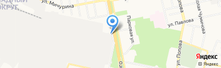 Белгородская областная типография на карте Белгорода