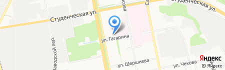 Андромеда на карте Белгорода
