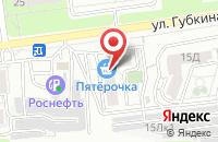 Схема проезда до компании Puzzle в Белгороде