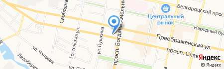 Ням-ням на карте Белгорода