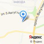Детский сад №46 на карте Белгорода