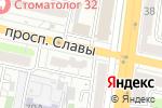 Схема проезда до компании Корица в Белгороде