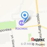 КОСМО на карте Белгорода