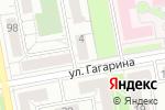 Схема проезда до компании Андромеда в Белгороде