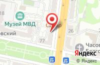 Схема проезда до компании Ткани всем в Белгороде